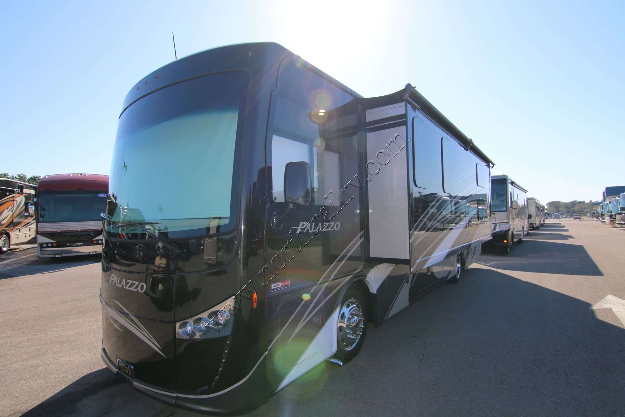 2017 Thor Palazzo 33 3 Class A Diesel Motorhome Stock 9971