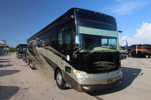 Tiffin Allegro Bus luxury diesel pusher motorhomes
